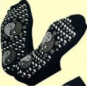 Samozahřívací turmalínové masážní ponožky