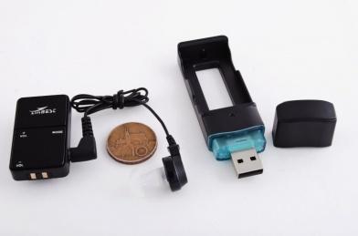 Digitální nabíjecí sluchadlo VHP-801 + inteligentní UV box