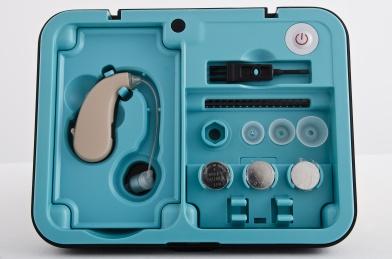 BTE naslouchátko za ucho Zinbest HAP-20F s UV boxem