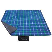 PICNIC CHECKERED Pikniková deka 150 x 180 cm modrá