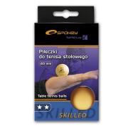 SKILLED-Pingpongové míčky 2*  oranžové , 6 ks