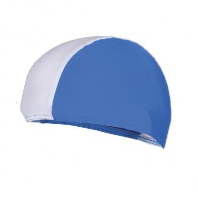 LYCRAS Plavecká čepice  modro-bílá