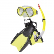 REEF-Sada brýle+šnorchl+ploutve S/M 38-41