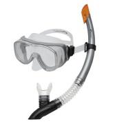 CEFEUSZ-Sada brýle+šnorchl šedá