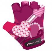 HEART GLOVE Dětské cyklistické rukavice XS