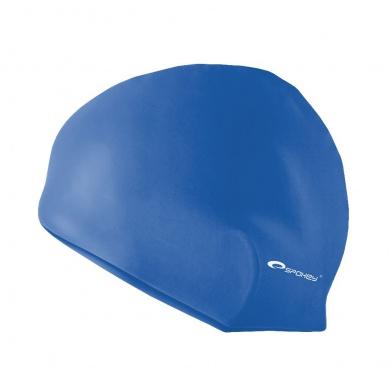 SUMMER-Plavecká čepice silikonová modrá