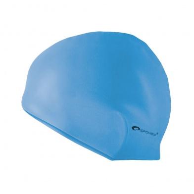 SUMMER-Plavecká čepice silikonová sv.modrá