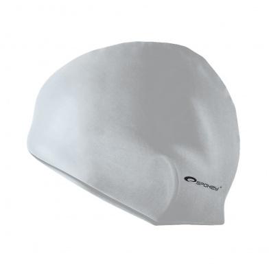 SUMMER-Plavecká čepice silikonová šedá