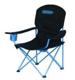 ANGLER De lux - turistická skládací židle černo-modré