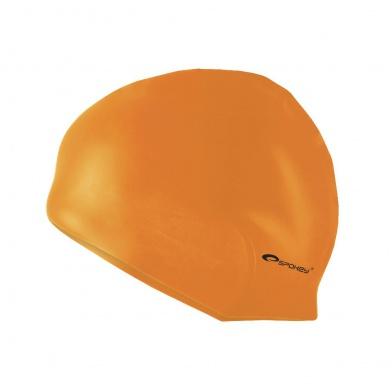 SUMMER-Plavecká čepice silikonová oranž.