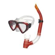 QUARIUS JUNIOR-Sada brýle+šnorchl červený