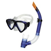 QUARIUS JUNIOR-Sada brýle+šnorchl modrý