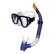 CORAL JUNIOR -Sada brýle+šnorchl modré
