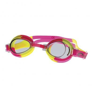 JELLYFISH Dětské plavecké brýle  růžovo-žluté