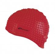 BELBIN-Plavecká čepice bublinková červená
