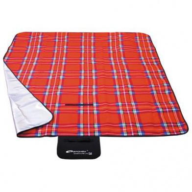 PICNIC TARTAN Pikniková deka 150x180 cm červené káro