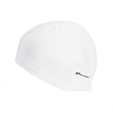 SUMMER-Plavecká čepice silikonová bílá