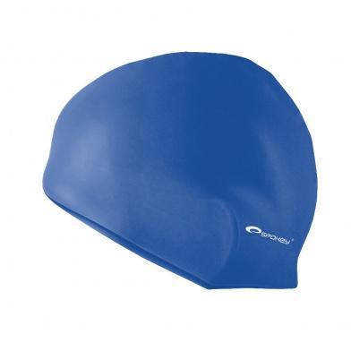 SUMMER-Plavecká čepice silikonová tm. modrá
