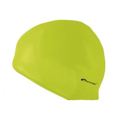 SUMMER-Plavecká čepice silikonová sv.zelená