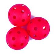 TURN-Florbalové míčky 3ks červené