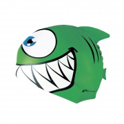 REKINEK-Plavecká čepice ŽRALOK zelená