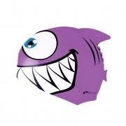 REKINEK-Plavecká čepice ŽRALOK fialová