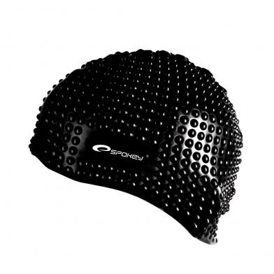 BELBIN-Plavecká čepice bublinková černá