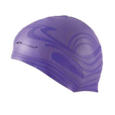 SHOAL-Plavecká čepice silikonová fialová