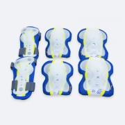 SENTINEL - 3-dílná sada dětských chráničů modré velikost S-L