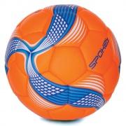 COSMIC Fotbalový míč ze 100% PU oranžovo-modrý vel.5