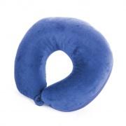 ADDER II- cestovní  polštářek s mikrokuličkami modrý