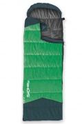 OUTLAST II Spací pytel mumie/deka  zelený levé zapinání