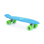 "CRUISER board   22 x 6"" modrý, žlutá kolečka 60x45 mm"