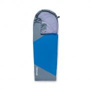ULTRALIGHT 600  II spací pytel  modro/šedý, levé zapínání, po složení 20x12 cm