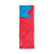 MUFF II Spací pytel deka, červený, pravé zapínání