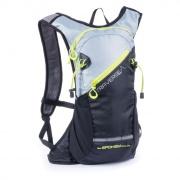 TRAVERSE - Cyklistický a běžecký batoh 7l, černo/šedý, voděodolný