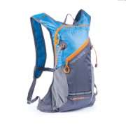 TRAVERSE - Cyklistický a běžecký batoh 7l  modro/šedý, voděodolný