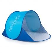 NIMBUS samorozkládací plážový paravan modrý