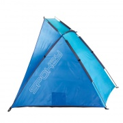 CLOUD II plážový paravan modrý