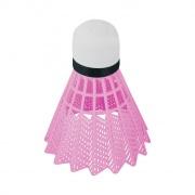 FLAME-Badmintonové míčky 6ks nylonové růžové