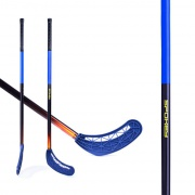 AVID II -Hokejka florbal modrá rovná čepel