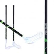 MASSIG II Florbalová hokejka  L zelená
