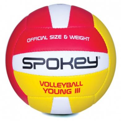 YOUNG III Volejbalový míč červeno-žlutý vel.4