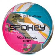 GRIT Volejbalový míč tyrkysovo-bílo-růžový č.5