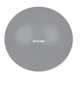 FITBALL III Gymnastický míč 75 cm včetně pumpičky, šedý