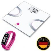 Diagnostická váha BEURER BF 710 BT + AS 81 PINK