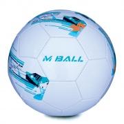 MBALL fotbalový míč bílo-modrý vel.5