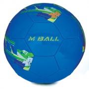 MBALL fotbalový míč modro-žlutý vel.5