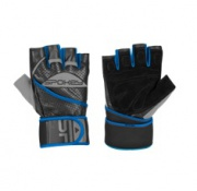 GANTLET II   Fitness rukavice vel. M černo-modré