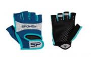 ELENA II Dámské Fitness rukavice  vel.L modro-tyrkysové